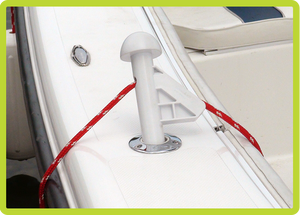 DL Fender Adjuster for your boats rod holder