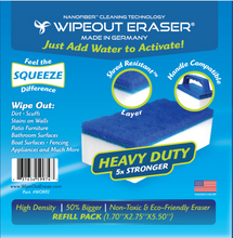 High Density WipeOut Eraser Refill Pack