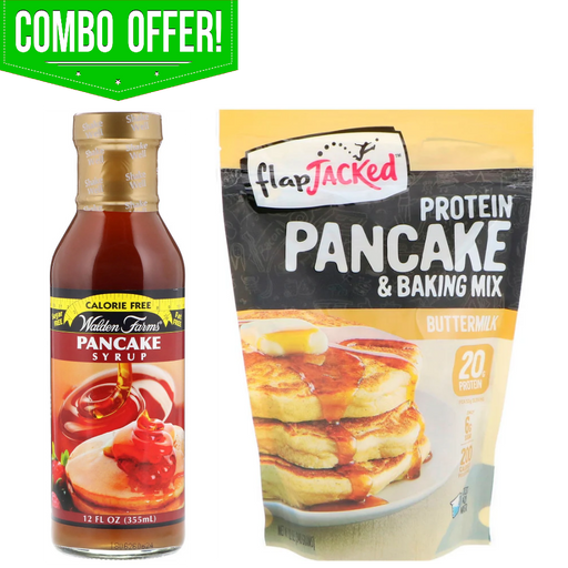 Protein Pancake & Syrup Combo
