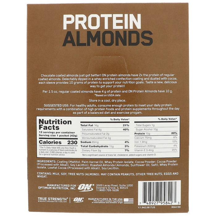 Protein Almonds - 12 Packets