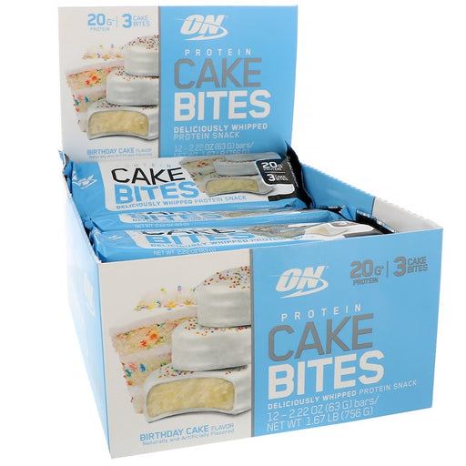 Protein Cake Bites - 12 Bar Box