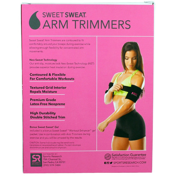 Sweet Sweat Arm Trimmers - Pink