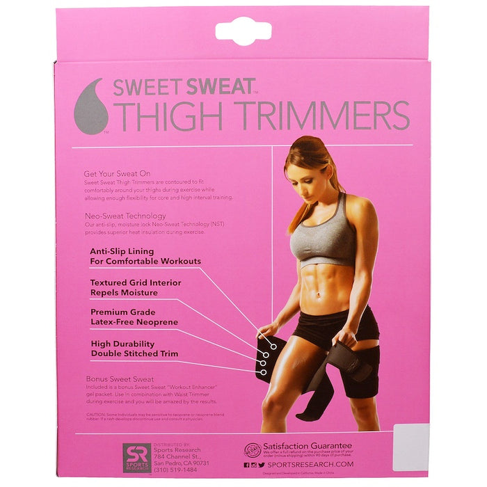Sweet Sweat Thigh Trimmers - Pink