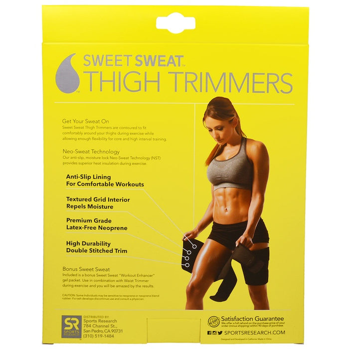 Sweet Sweat Thigh Trimmers - Yellow