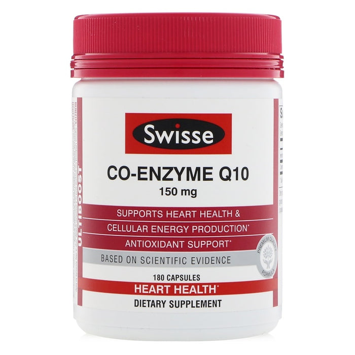 Co-Enzyme Q10 - 180 Capsules