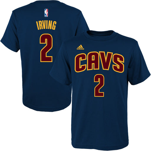 Kyrie Irving Cleveland Cavaliers Adidas Youth Game Time T-Shirt