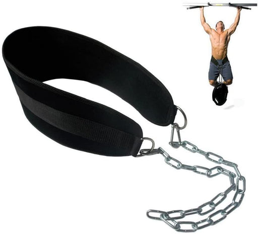HemeraPhit Pull-up Belt Weighted Dip Belt with Chain