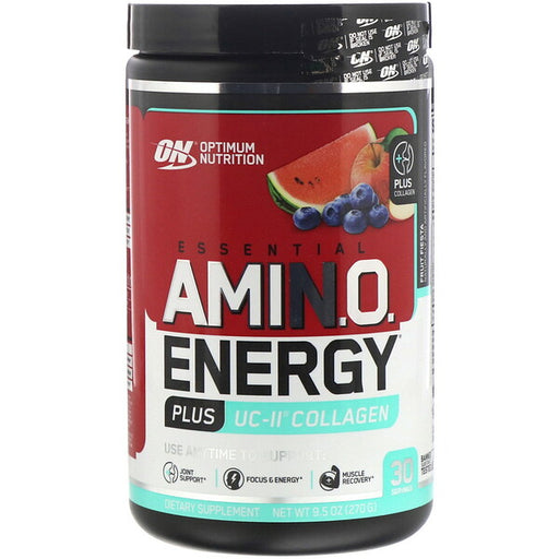 Optimum Nutrition Amin.o. Energy plus UC-II Collagen 30 Servings