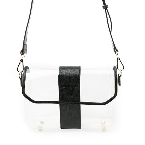 Crystal Clear Bag Black