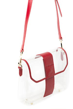 Crystal Clear Bag Red