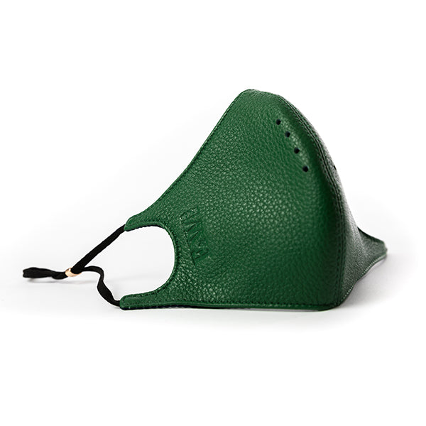 Jade leather face Mask