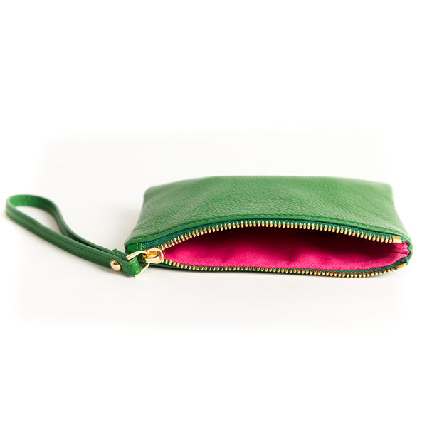 Kelly Wristlet Green