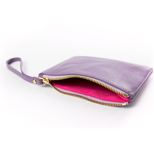 Kelly Wristlet Purple