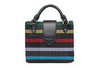 Sade Black Mini Stripe