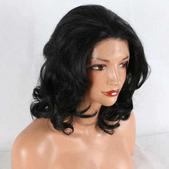 Long Middle Part LACE FRONT WIG Synthetic 16