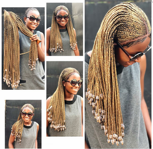 Tribal braids, lace front wig, BRAIDED LACE WIG, Braided wigs 22 Inches FAST SHIPPING