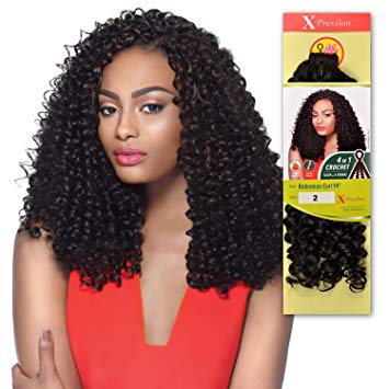 OUTRE SYNTHETIC HAIR CROCHET BRAIDS X-PRESSION BRAID WATER WAVE LOOP 14