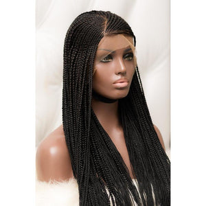 SMALL GHANA BRAIDS LACE WIG