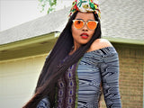 Million Braids middle part wig 42""
