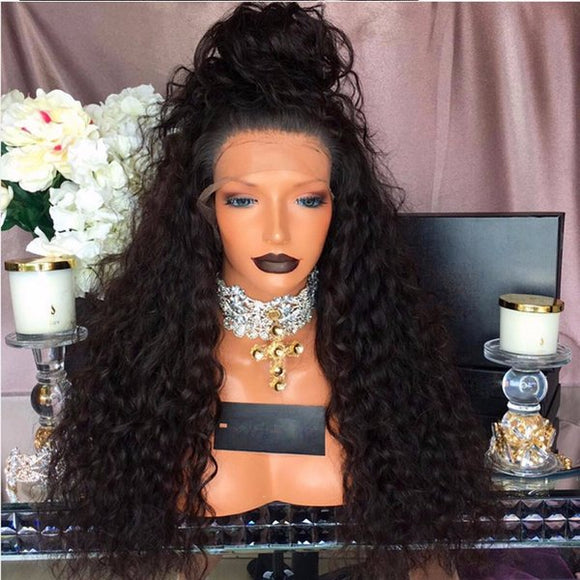 Garabina She is a 26 inches FULL LACE WIG