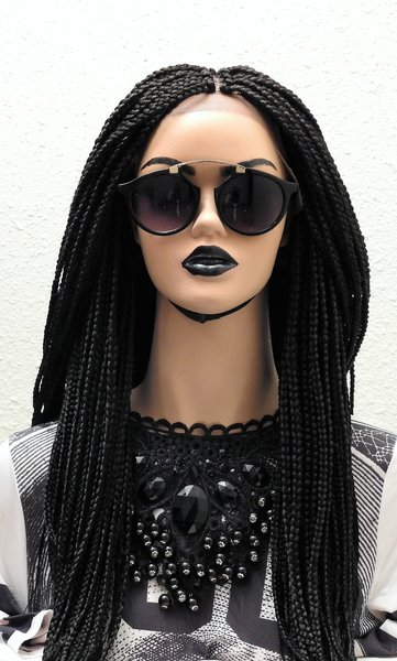 Full Lace Box Braids Wig 22