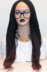 Ombre Senegalese Twist wig 24""