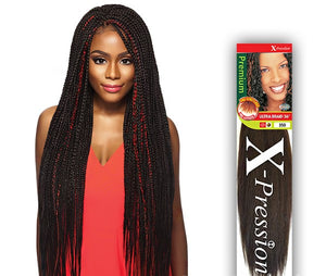 OUTRE SYNTHETIC HAIR BRAIDS X-PRESSION PRE-STRETCHED ULTRA BRAID 36""