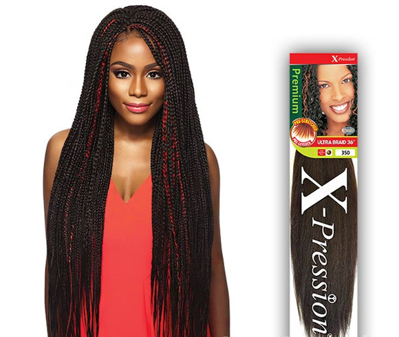 OUTRE SYNTHETIC HAIR BRAIDS X-PRESSION PRE-STRETCHED ULTRA BRAID 36