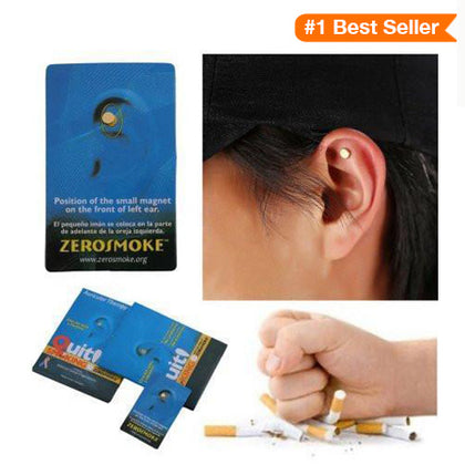 Acupressure Smoking Magnetic Patch