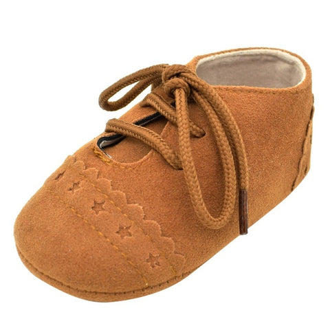 Baby Lace Up Moccasin