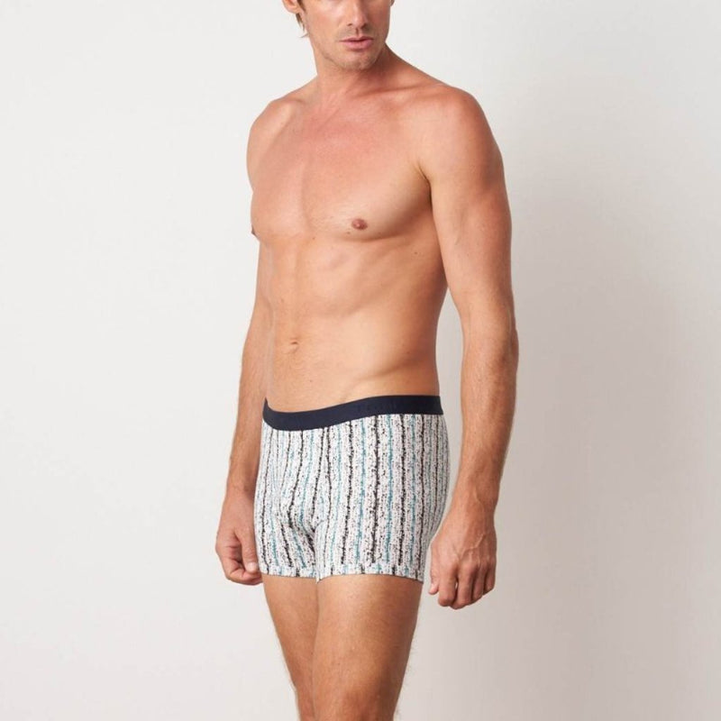 Tani Comfort Silktouch Boxer in 1359 stripes colour