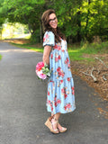 Womens Spring Floral Dress