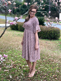 Womens Smocked Dress (Plus Sizes Available)