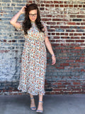 Womens Mix Print Dress (Plus Sizes Available)