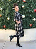 Womens Buffalo Plaid Dress