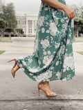 RESTOCKED! Womens Dusty Sage Maxi Dress