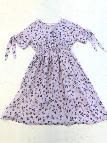 Girls Smocked Waist Dress