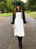 Womens Pinafore Dress