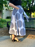 Womens Polka Dot Skirt