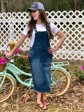 Womens Denim Overall Jumper