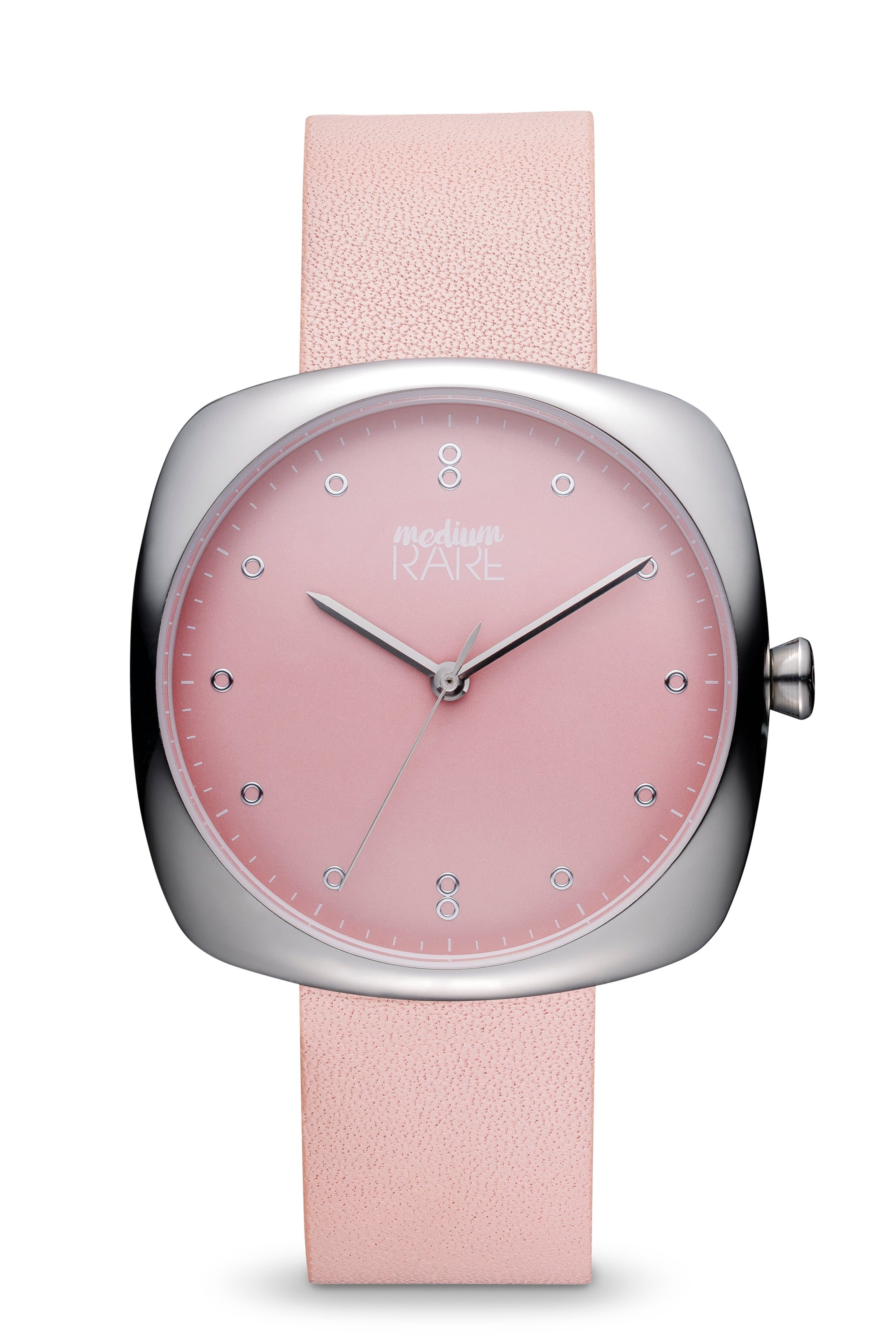 the petite classic silver ashfield peach collection watches pin in
