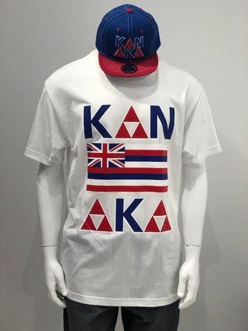 KING OF KINGS - Kanaka White T-Shirt - Noeau Designers