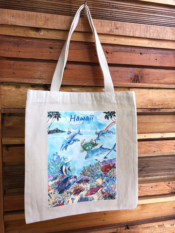Michael Lee Small Under The Sea Tote Bag - Noeau Designers