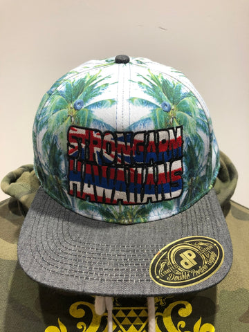 STRONGARM HAWAIIANS - Coconut Tree Snapback Hat With Hae Hawai'i Logo - Noeau Designers