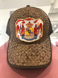 SHARE ALOHA EVERYDAY LLC - Coat Of Arms Trucker Hat - Noeau Designers