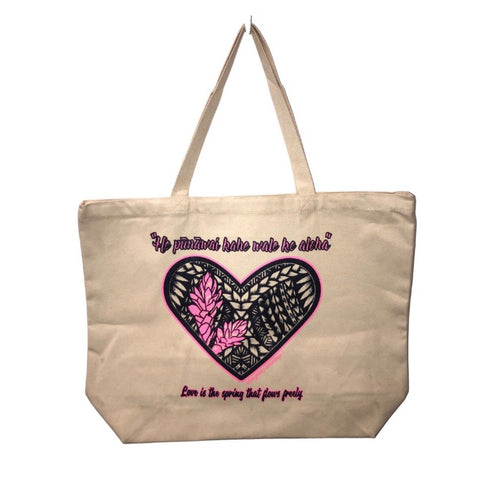 STRONGARM HAWAIIANS - Ginger Heart Tote