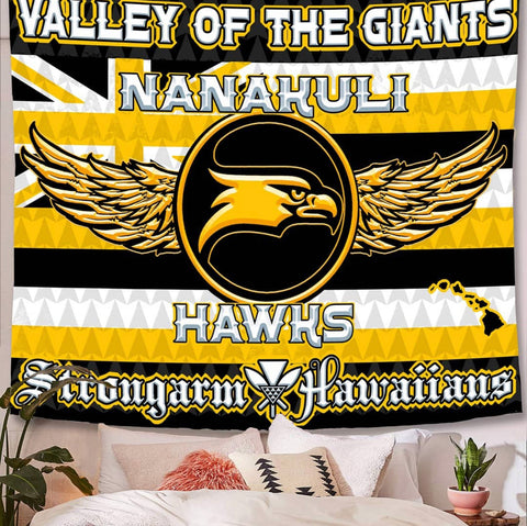 STRONGARM HAWAIIANS - Nanakuli Big Boy Blanket/Flag - Noeau Designers
