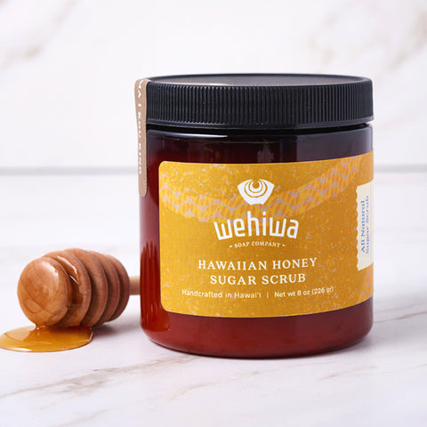 Wehiwa Soap Co Hawaiian Honey Body Scrub