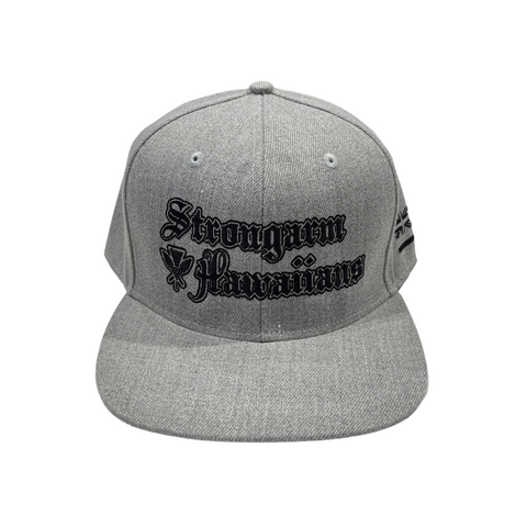 STRONGARM HAWAIIANS - Gray Snapback