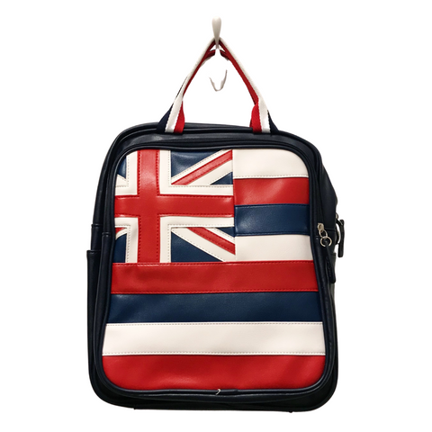BAGZIES - Hawaiian Flag Convertible Backpack - Noeau Designers
